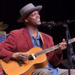 Eric Bibb on Mountain Stage 1 Feb. 2015 - Credit Brian Blauser -  Mountain Stage