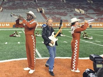 Jimmie Vaughan - MI2N 2 UT Band Photo by Marsha Milam