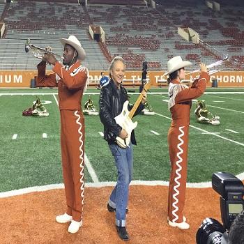 Jimmie Vaughan - MI2n 3 UT Band Photo by Marsha Milam
