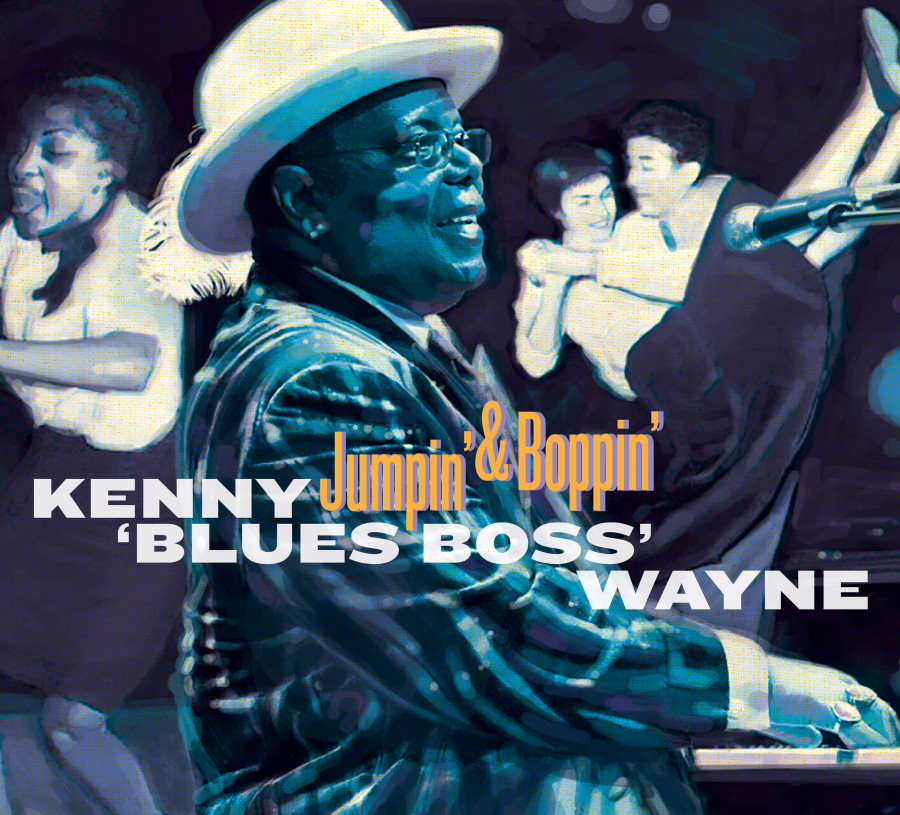 Kenny Wayne Jumpin' & Boppin' Hi-Res Cover