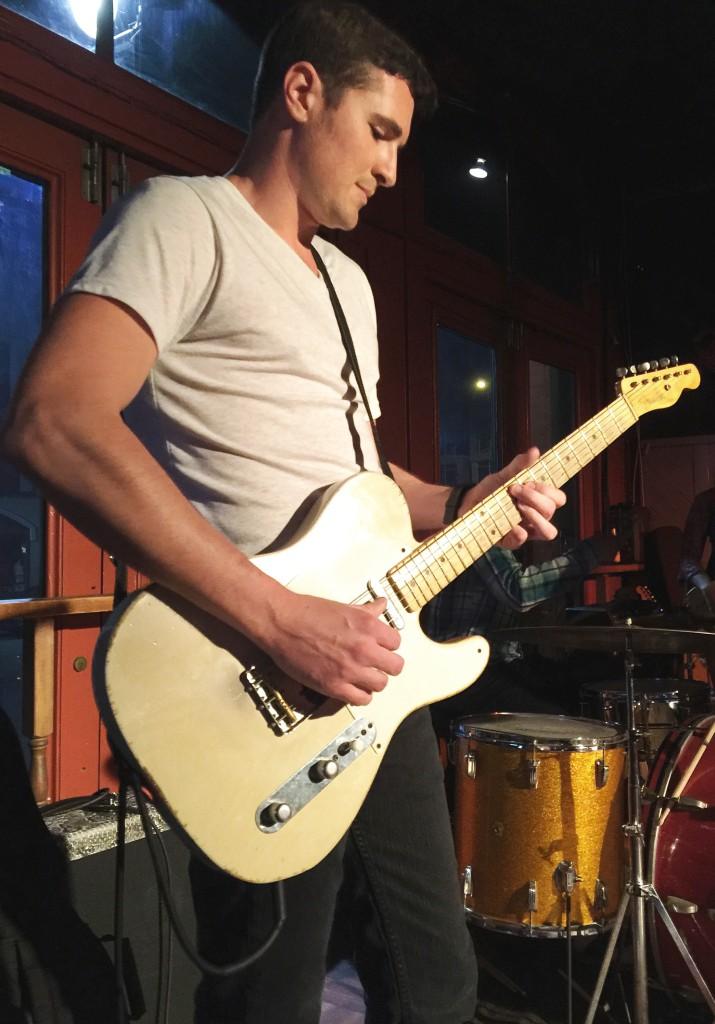 Travis Green Electric Guitar Live Photo by Brad Stivers