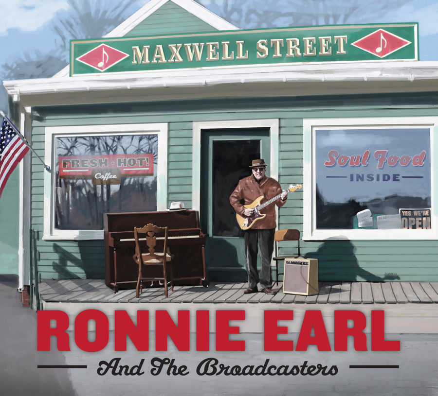 Ronnie Earl - Maxwell Street Hi-Res Cover