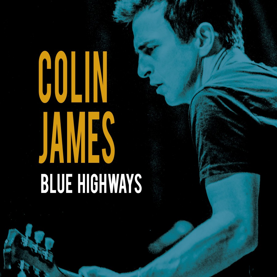 Colin James Blue Highways Hi-Res Cover