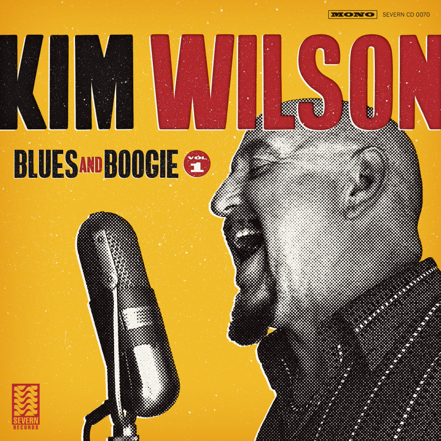 Kim Wilson - Blues and Boogie Vol. 1 Hi-Res Cover